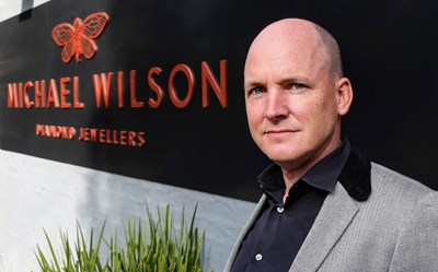 Aaron Wilson, managing director, Michael Wilson Diamond Jewellers