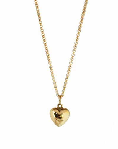 This dainty puffed heart charm is a gorgeous gift for all ages. An instant favourite to wear all day, everyday.